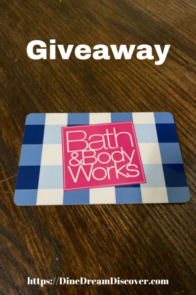 $100 Bath & Body Works Gift Card Giveaway