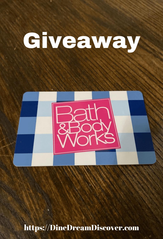 $100 Bath & Body Gift Card Giveaway