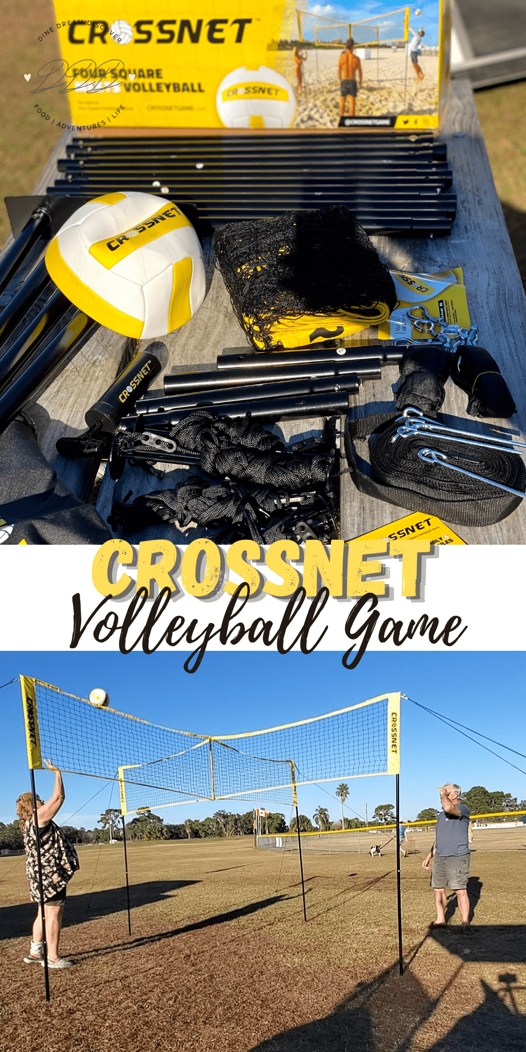 CROSSNET - The New Volleyball Game in Town