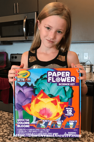 Crayola Paper Flower Science Kit