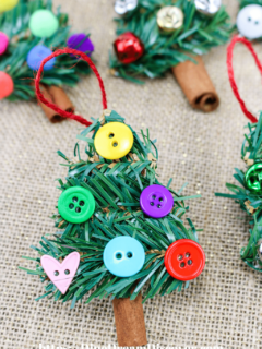 Dollar Store Christmas Tree Ornaments DIY
