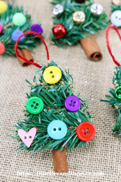 Dollar Store Christmas Tree Ornaments DIY