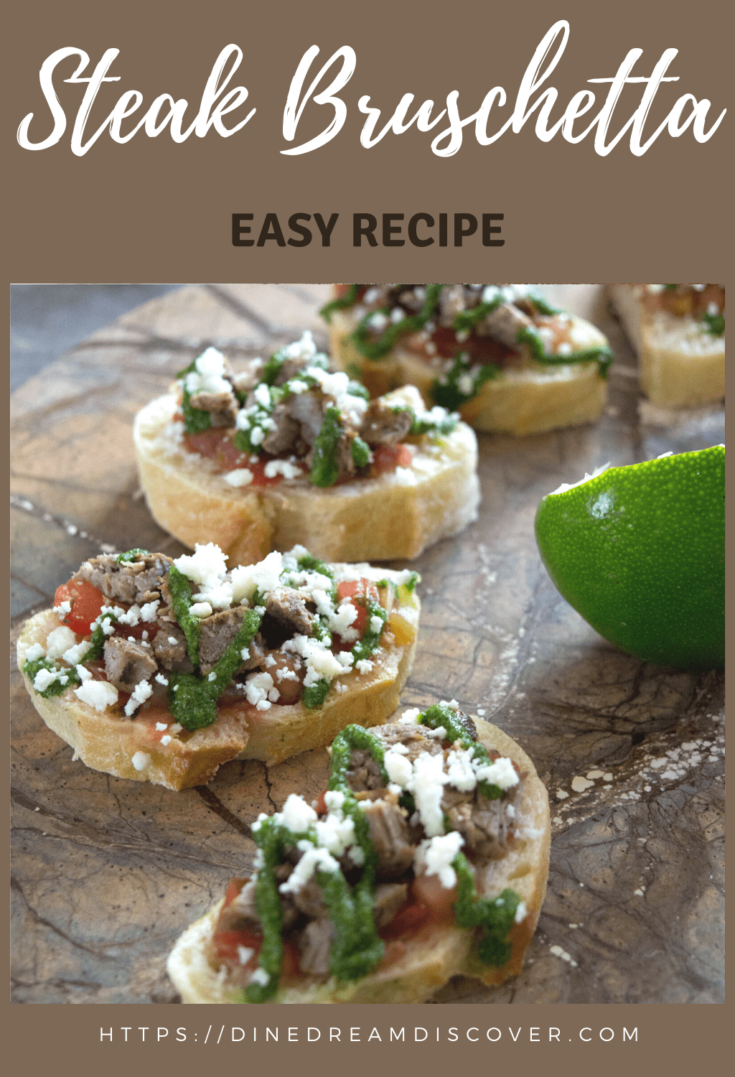 Easy Steak Bruschetta Recipe
