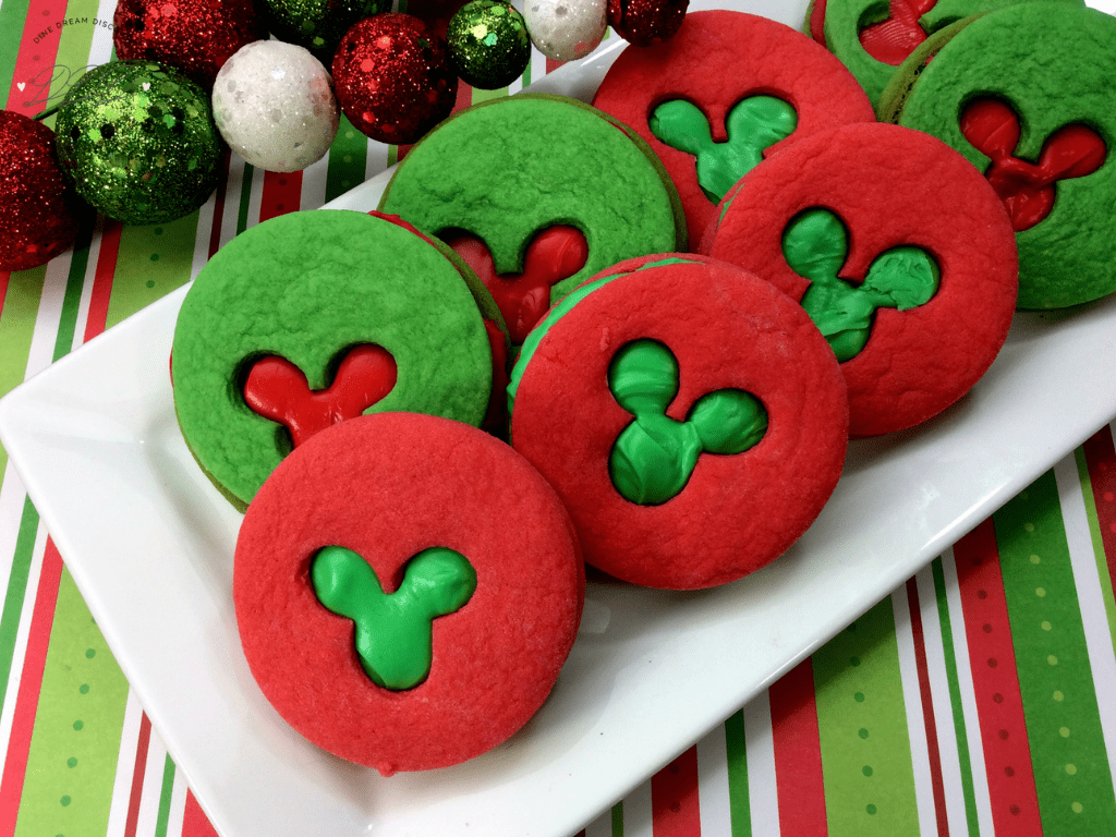 Mickey Mouse Sandwich Cookies Recipe