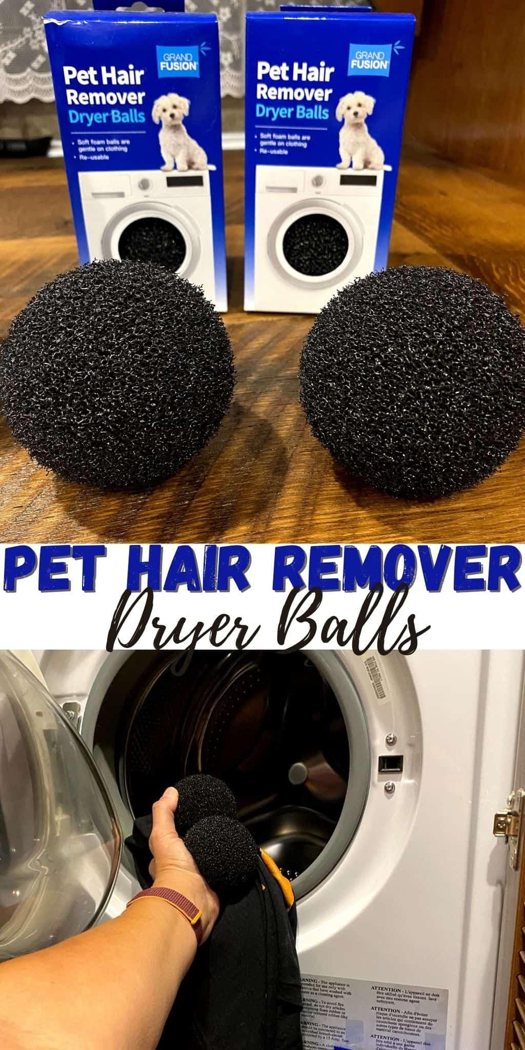 Pet Hair Remover Dryer Balls