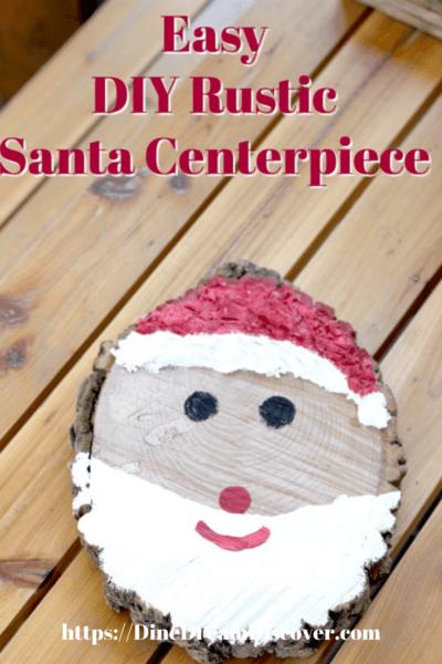 Rustic Santa Craft