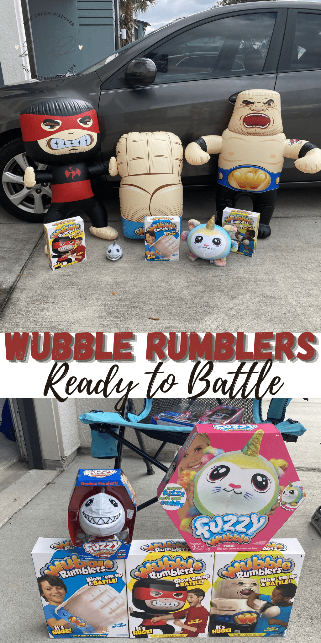 Wubble Rumblers are Ready to Battle