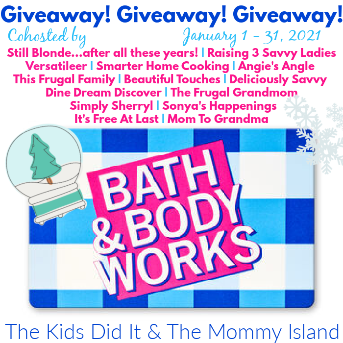 $100 Bath and Body Works Gift Card Giveaway (