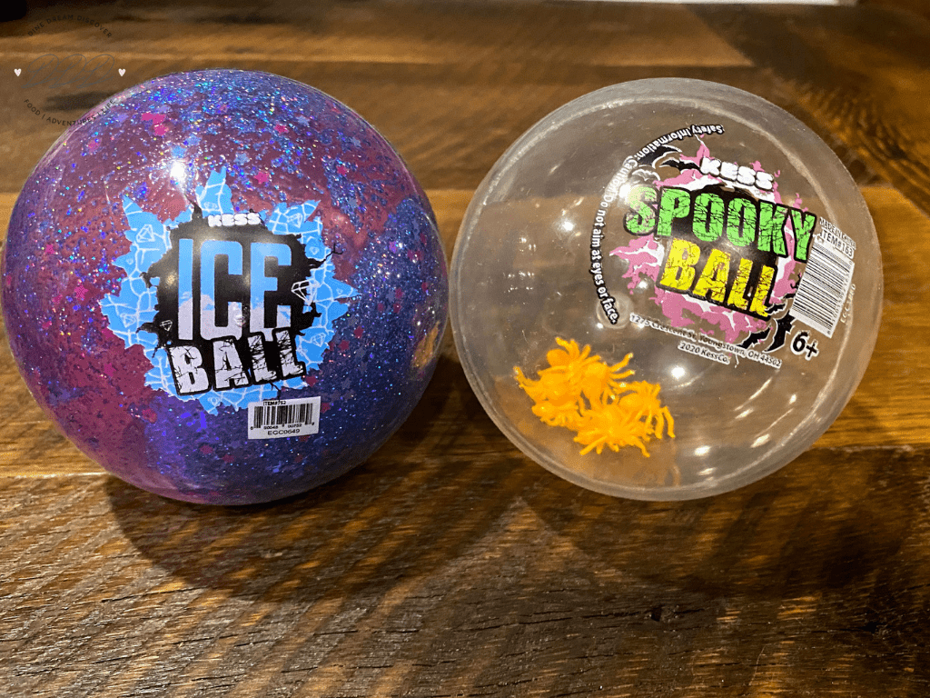 Kess Ice Ball and Spooky Ball