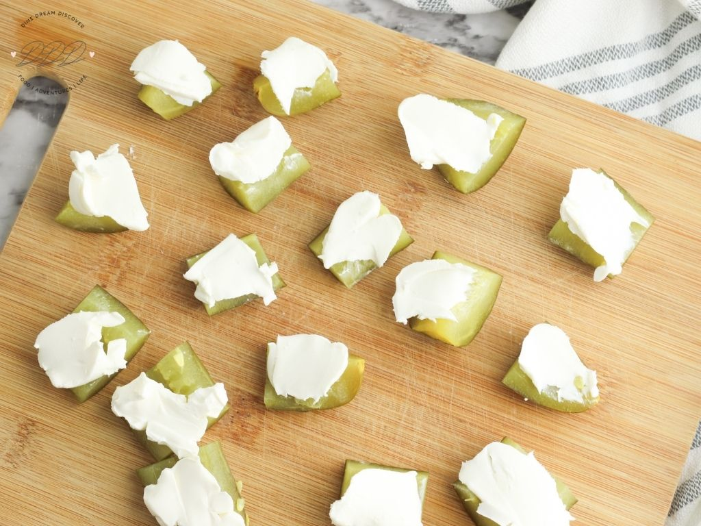 cream cheese pickles