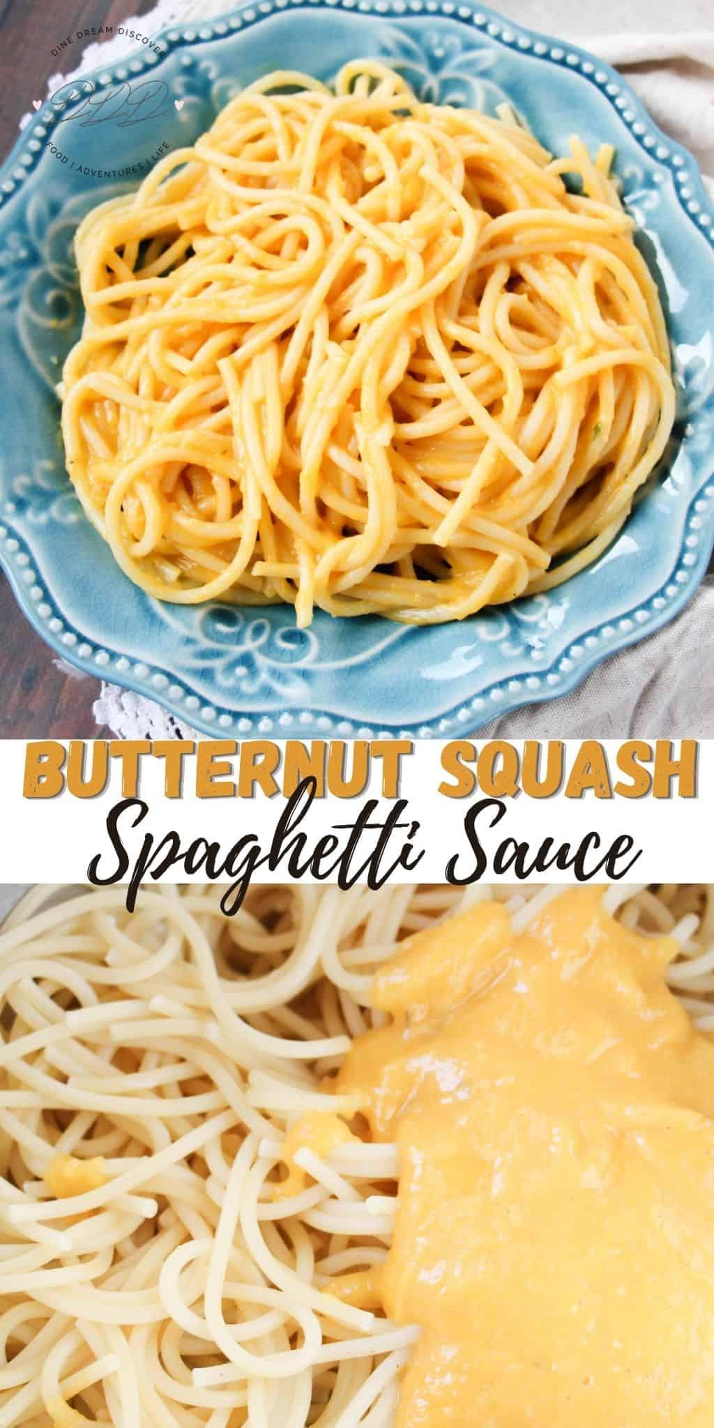 Butternut Squash Spaghetti Sauce