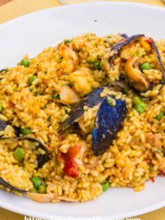 Campfire Seafood Paella Recipe