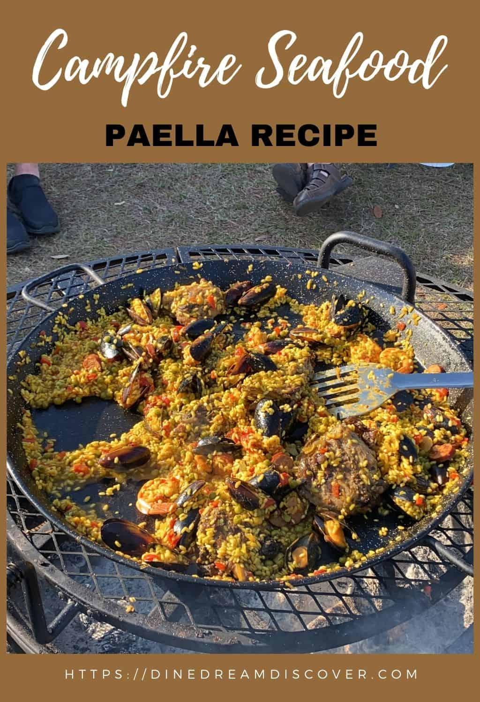 campfire mixed paella recipe