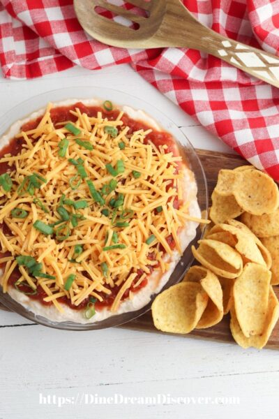 meatless taco dip recipe