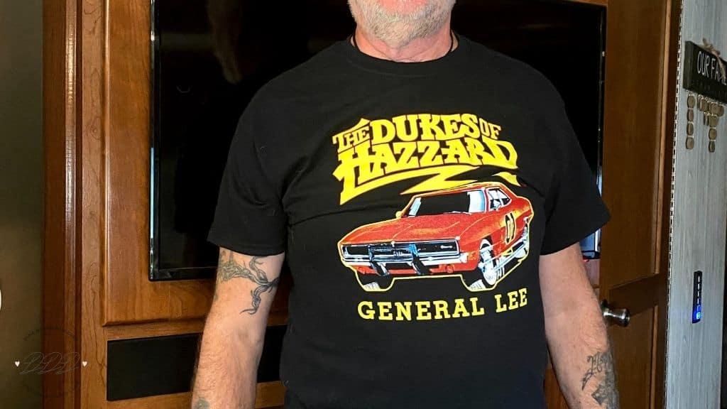dukes of hazzard t-shirt