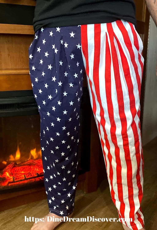 usa american flag lounge pants