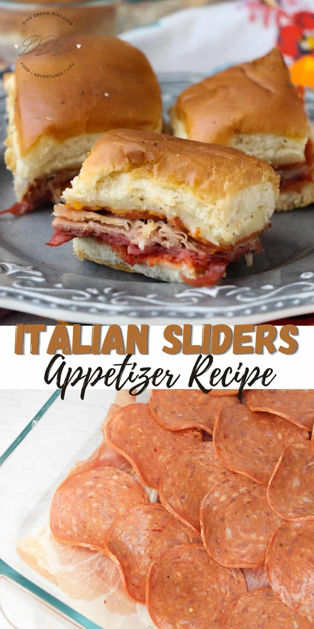 italian sliders recipe