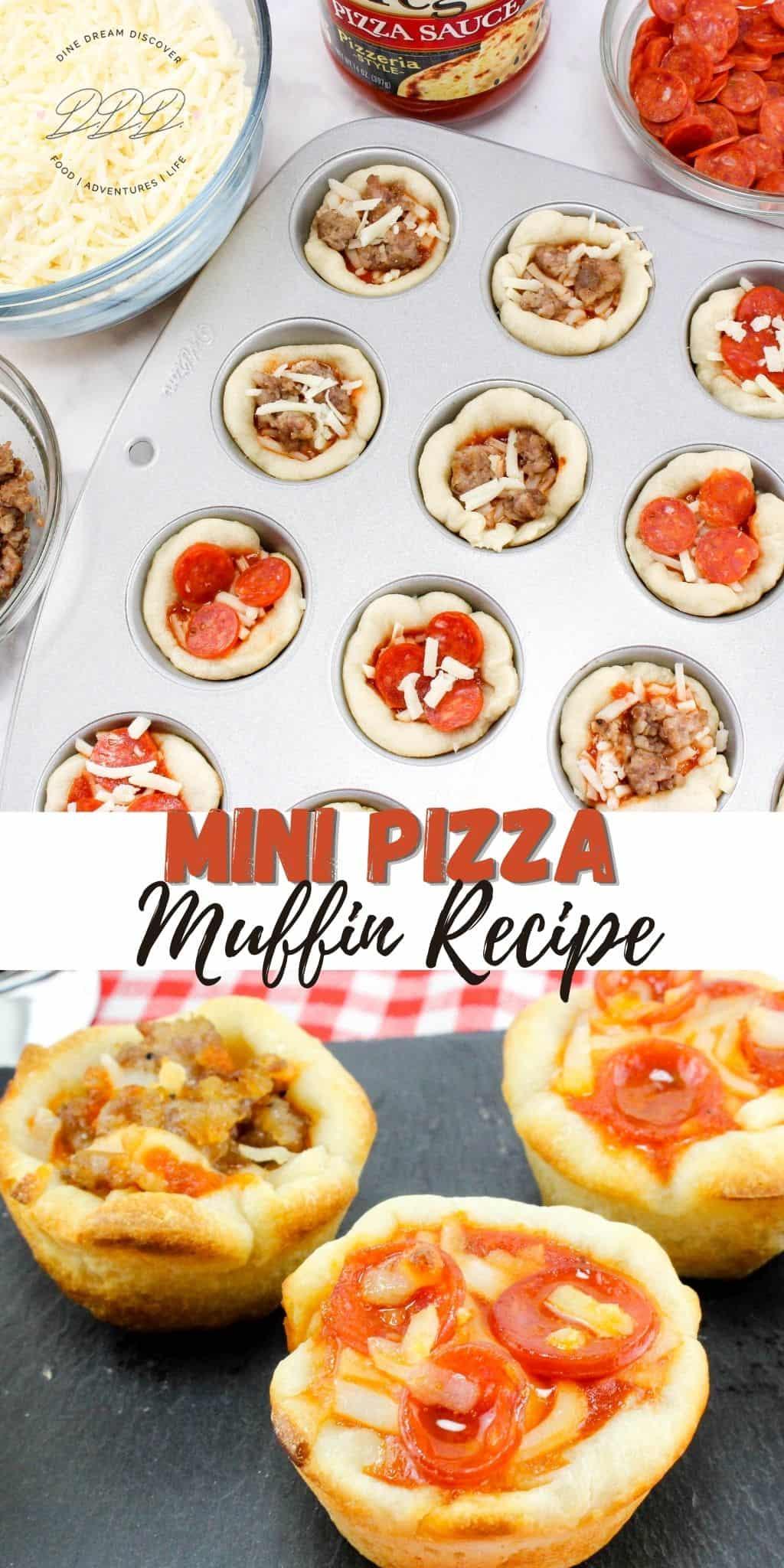 Mini Pizza Muffin Recipe
