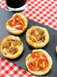 Mini Pizza Muffin Recipe
