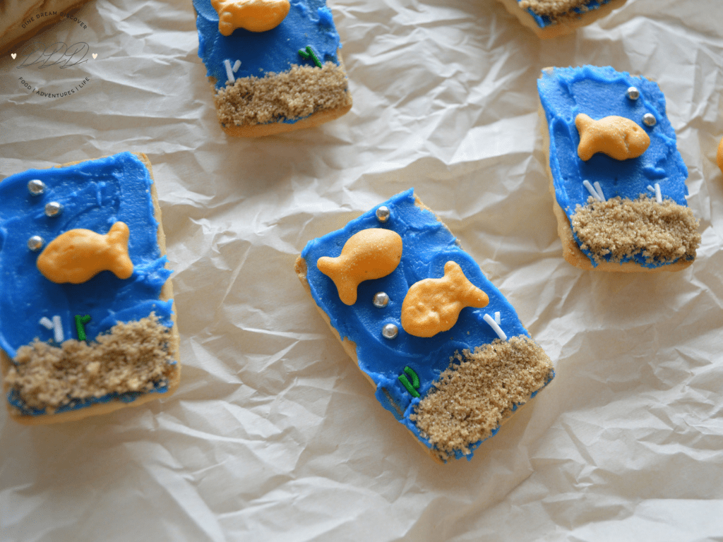 Under the Sea Shortbread Cookies
