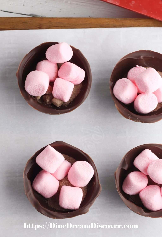 valentine hot chocolate bombs recipe