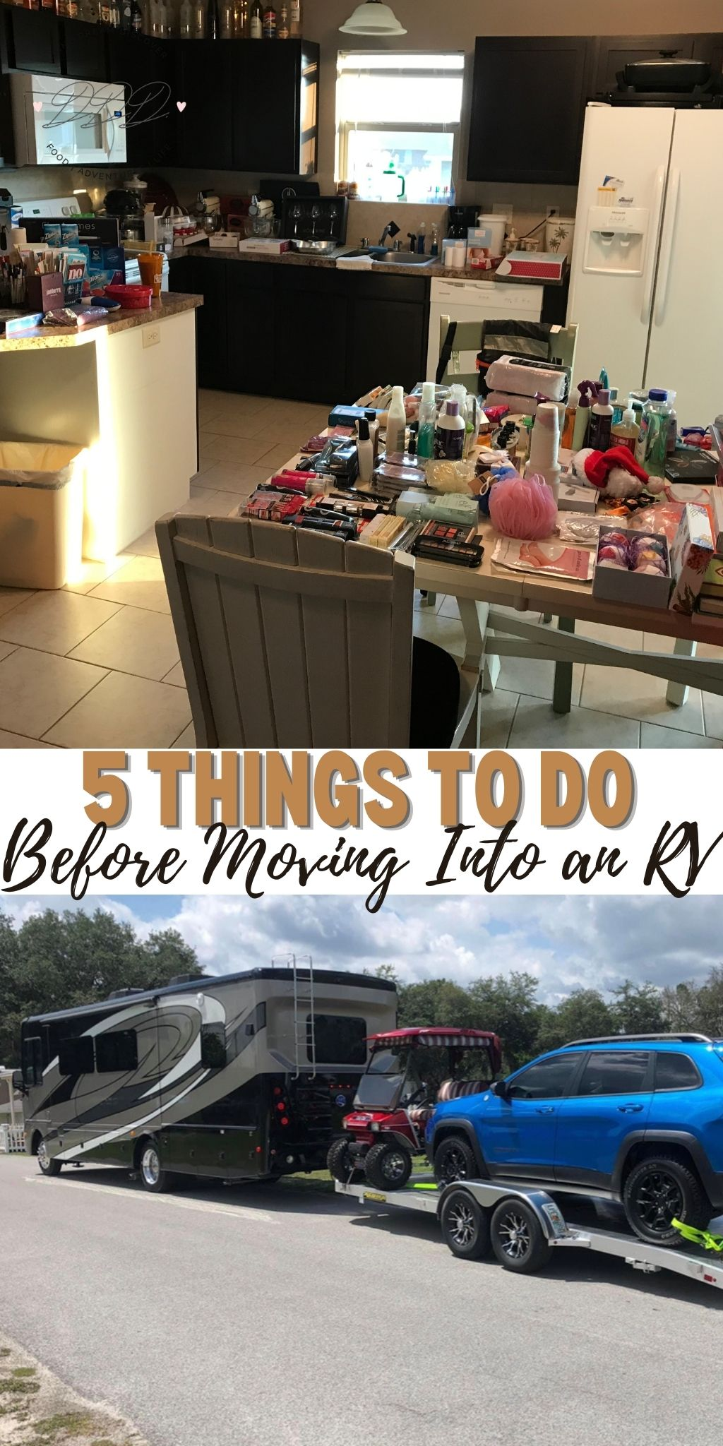 5 things to do before moving into an RV