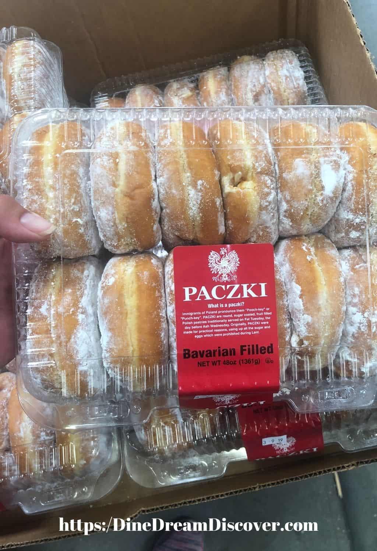 paczki polish donuts
