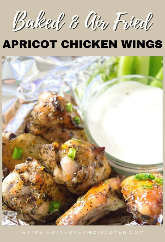 Baked Apricot Chicken Wings Recipe