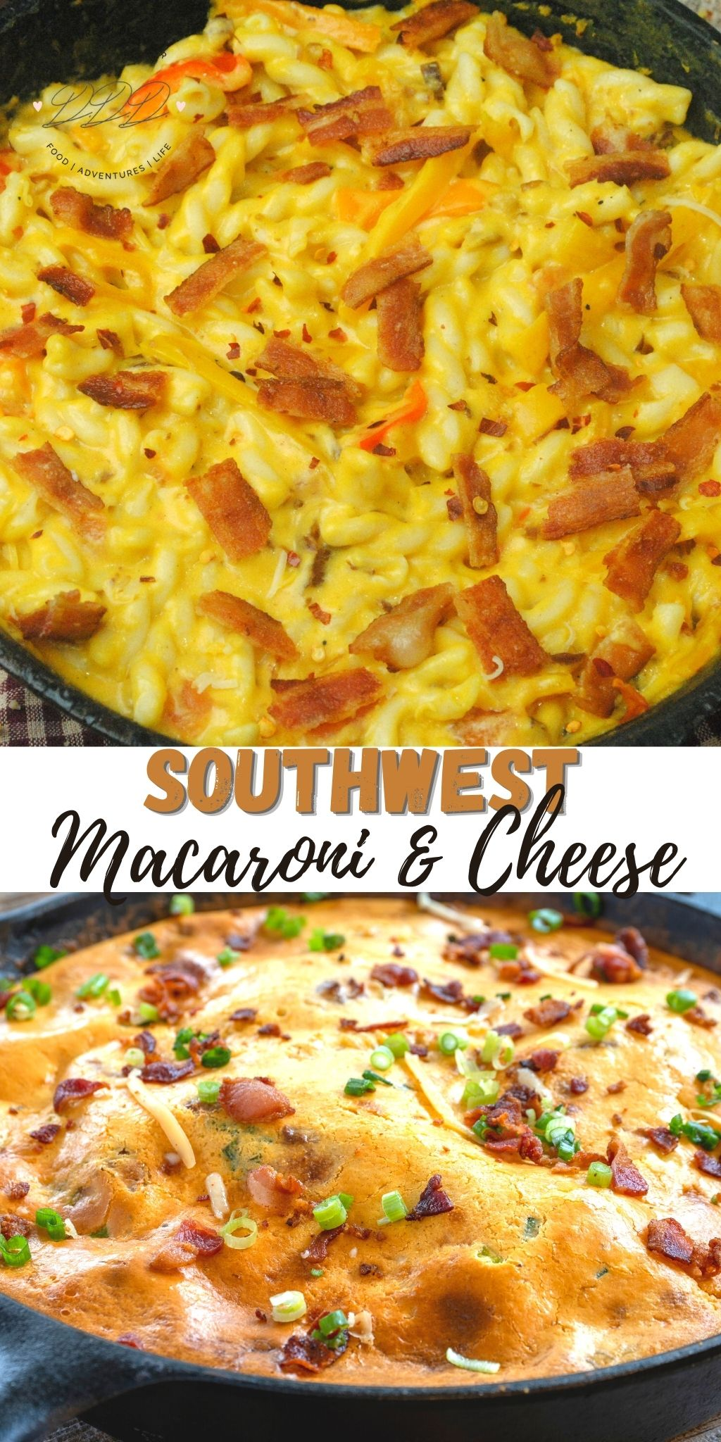Cast Iron Skillet Southwest Mac & Cheese Recipe