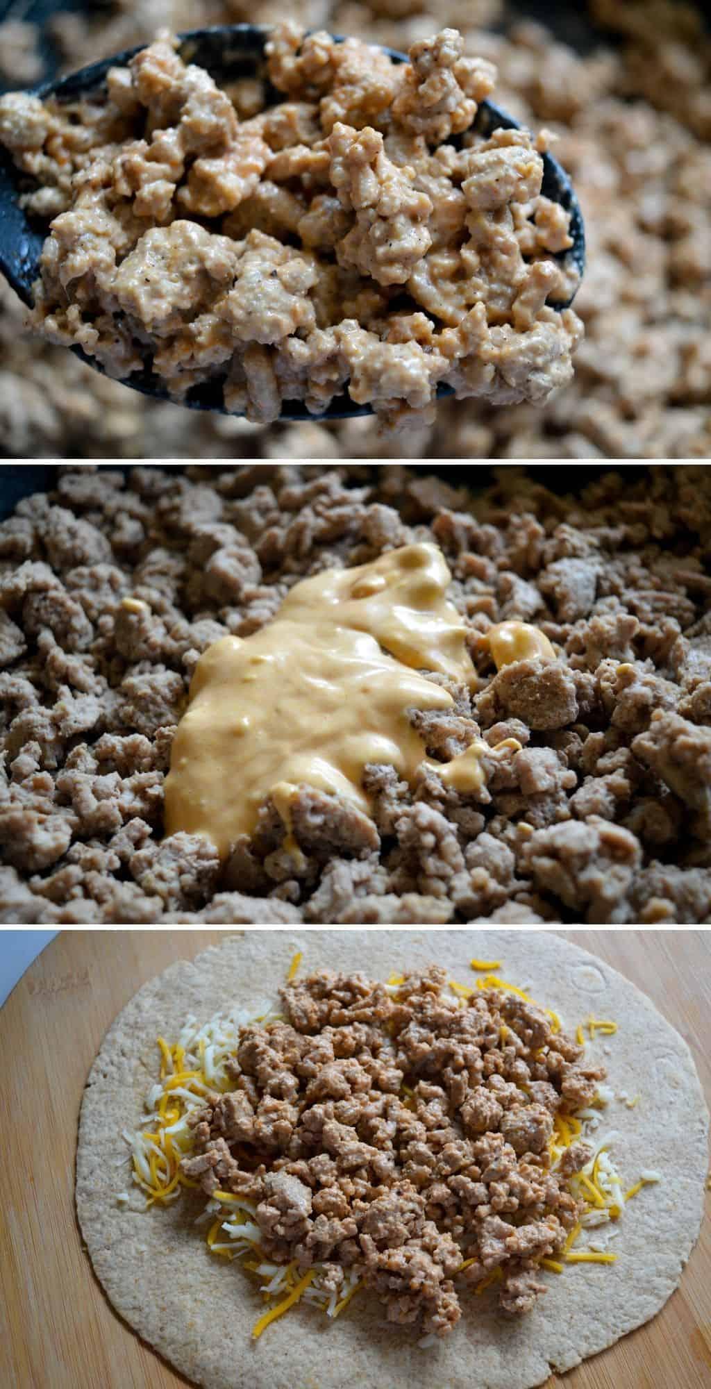 Cheeseburger Quesadilla Recipe