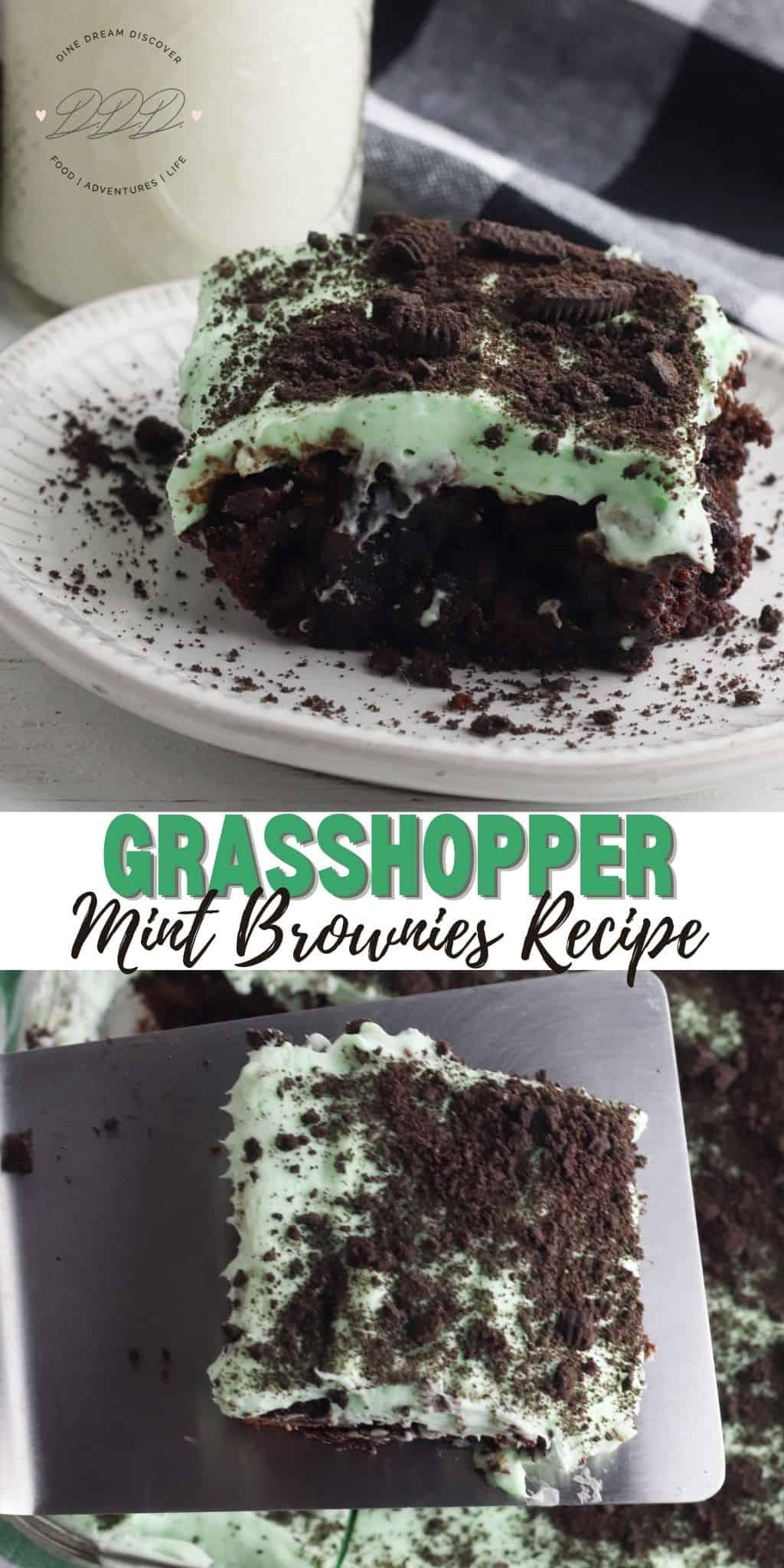 Grasshopper Brownies Recipe