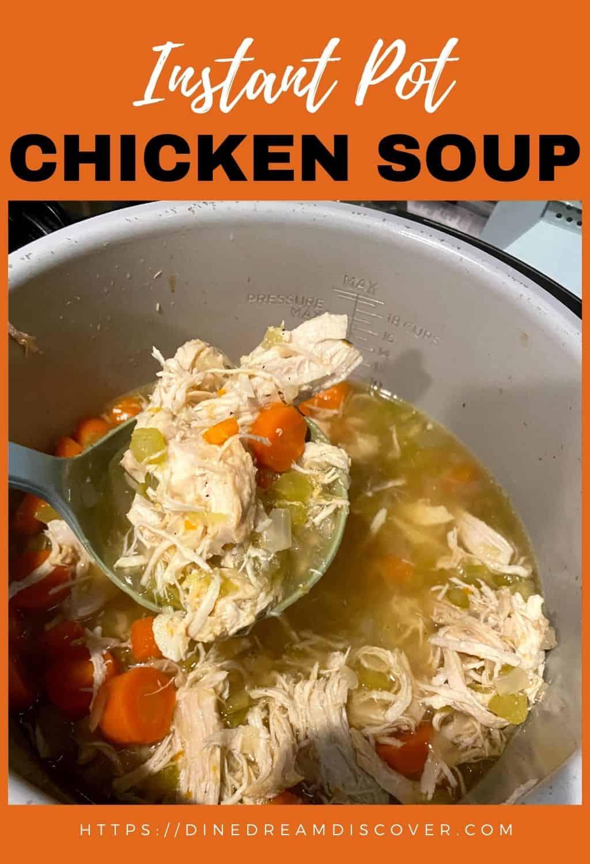 Instant Pot Chicken Soup Recipe