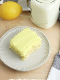 luscious lemon dessert