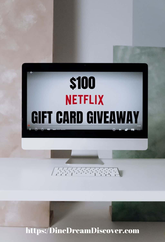 NETFLIX GIFT CARD GIVEAWAY