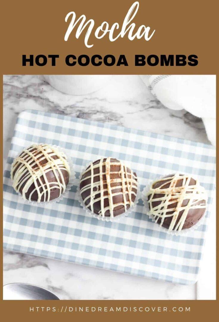 Mocha Hot Cocoa Bombs Recipe