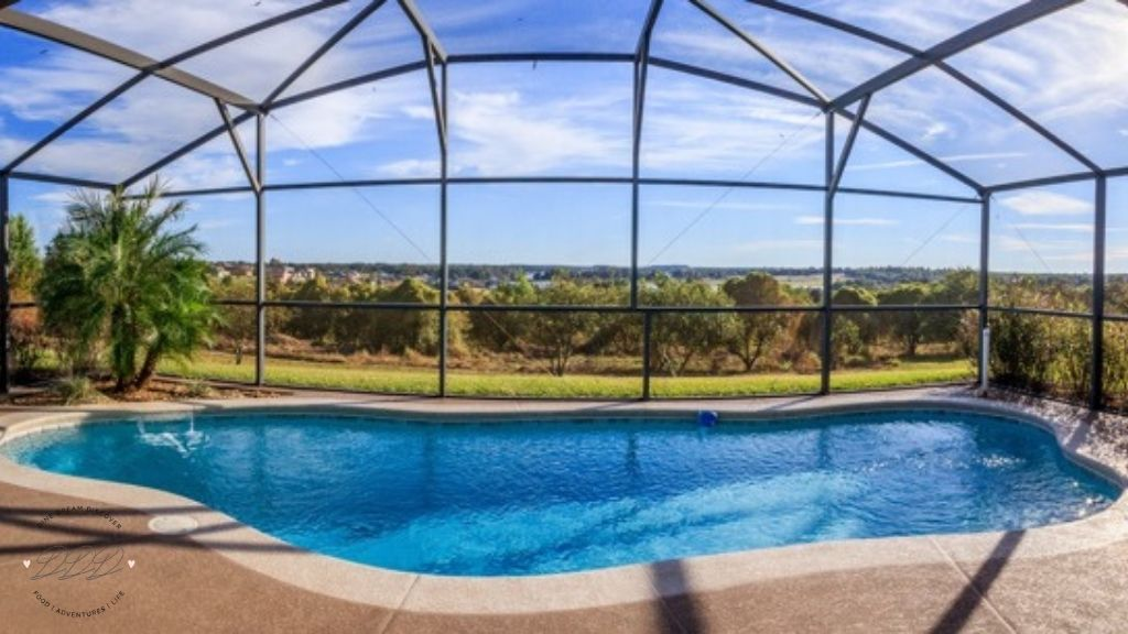 swimming pool at clermont house