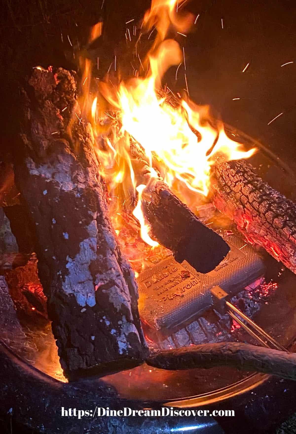 campfire reuben recipe
