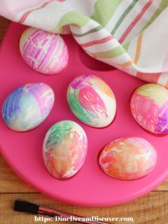 Coffee Filter Easter Eggs