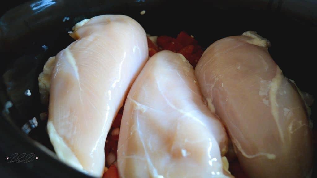 chicken in slow cooker