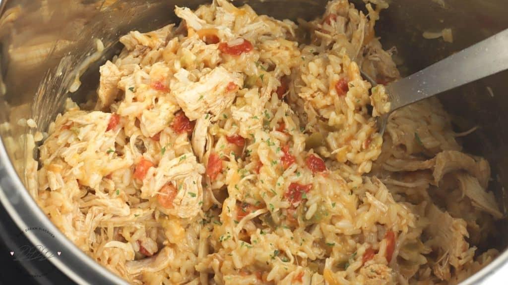 southwest chicken & rice