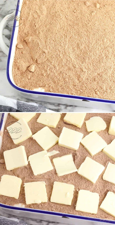 dump oreo cake