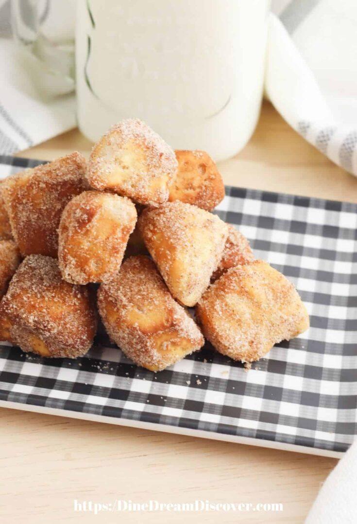 Air Fryer Donut Bites Recipe