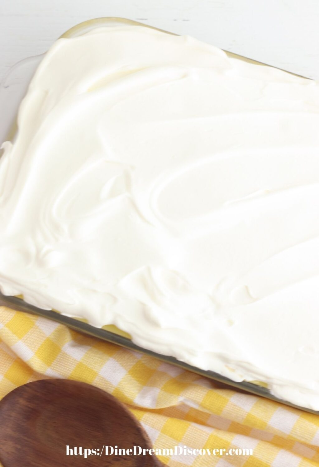 WHIPPED TOPPING CAKE
