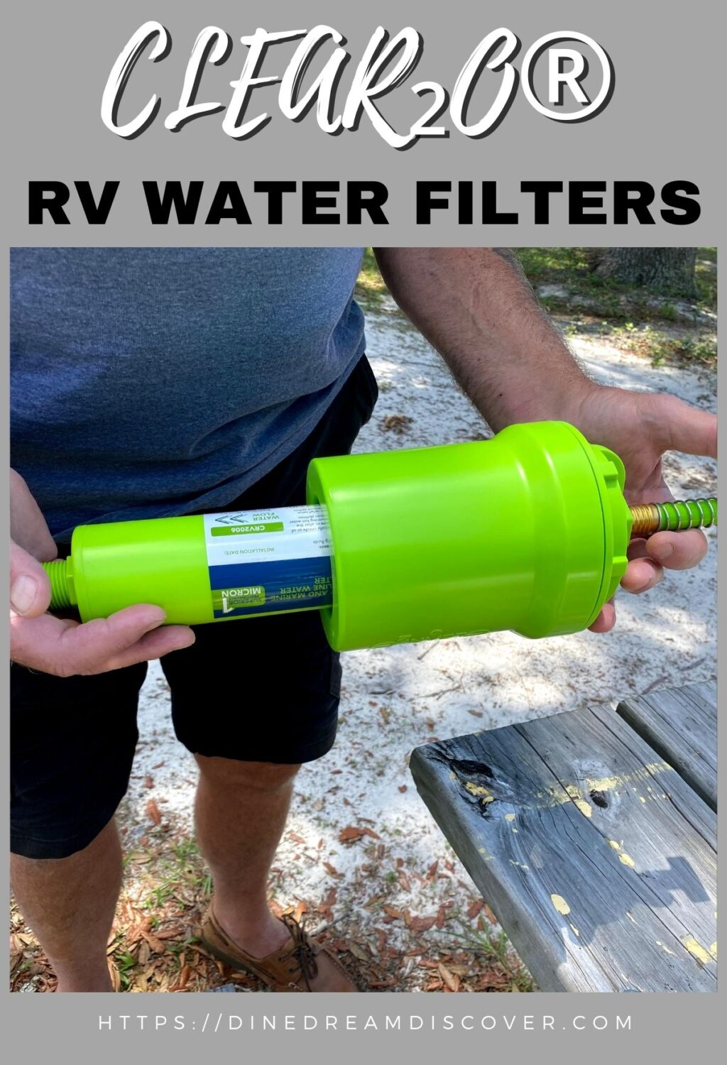 CLEAR₂O® RV Water Filters