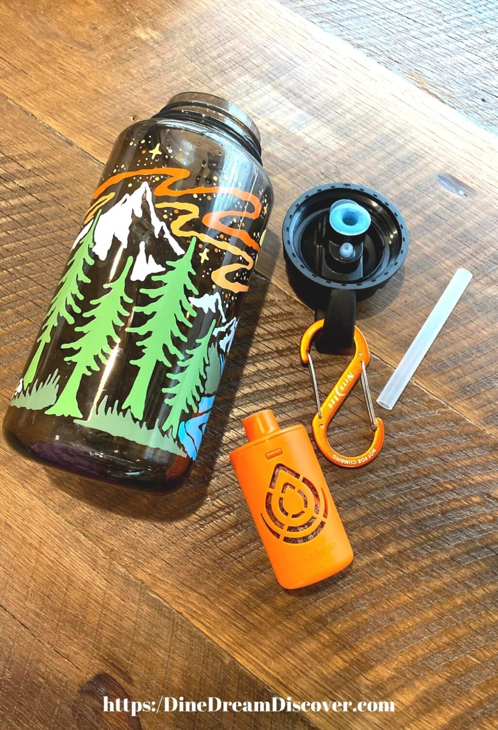 Nalgene Outdoor OG AtomicChild 32 oz Bottle