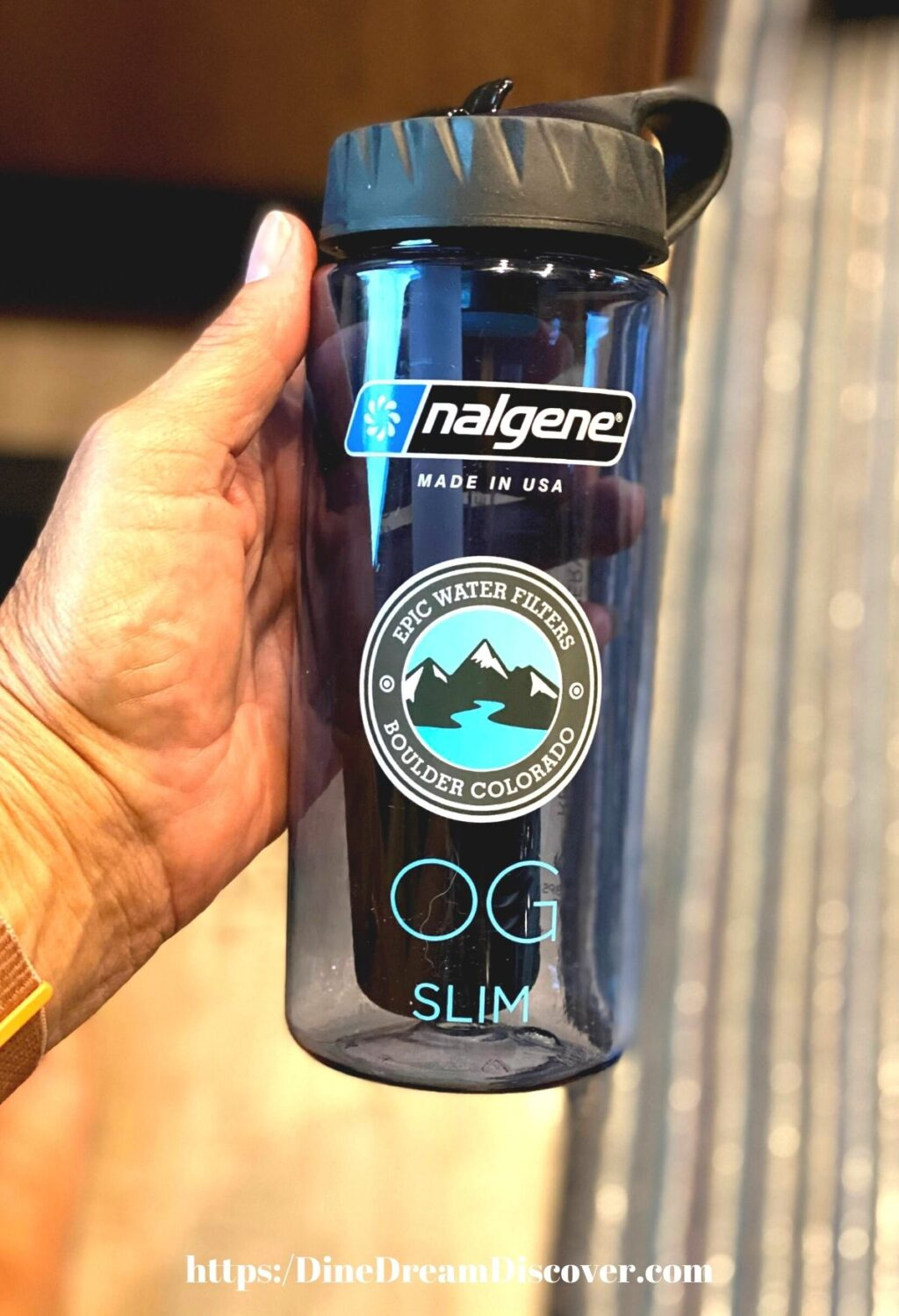 Epic Nalgene OG Slim 20 oz. Water Filter Bottle