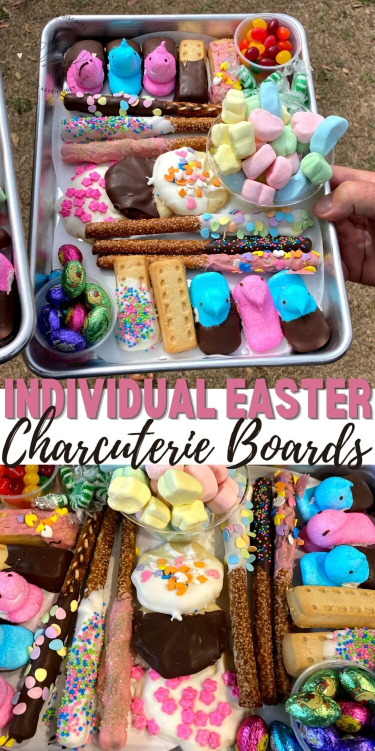 Individual Easter Charcuterie Boards