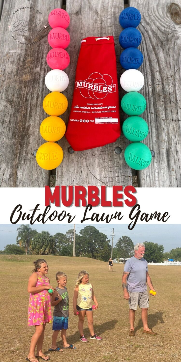 Murbles Outdoor Lawn Game for All Ages