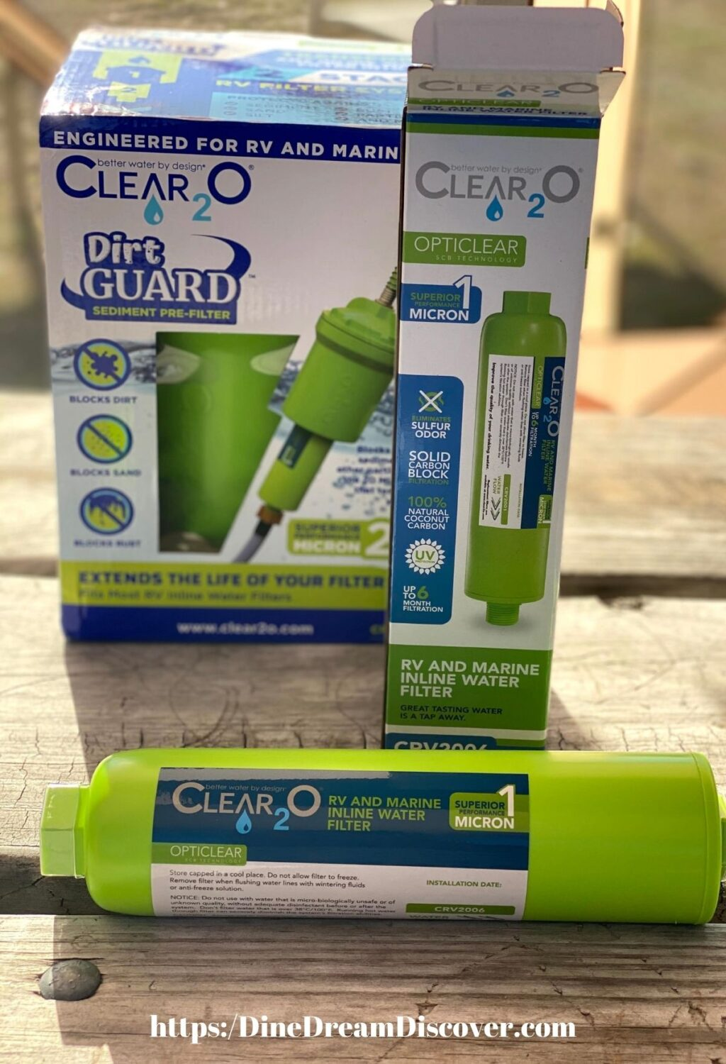 Clear²0 RV Water Filters