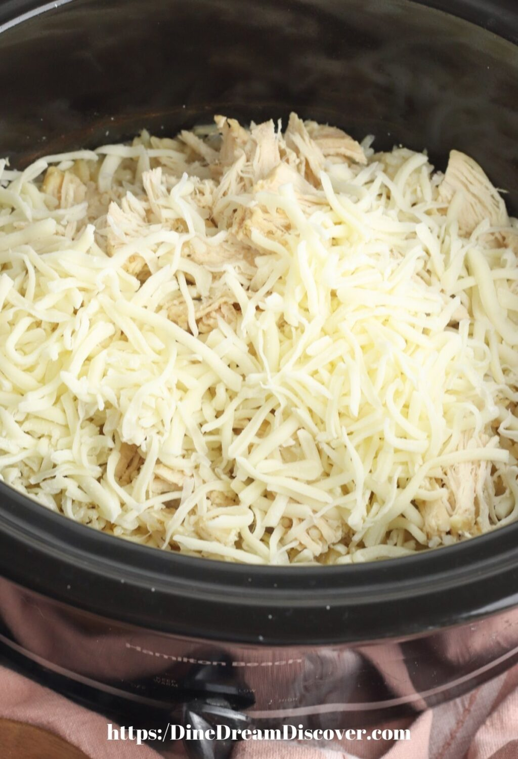 CHICKEN BREASTS COVERED WITH CHEESE